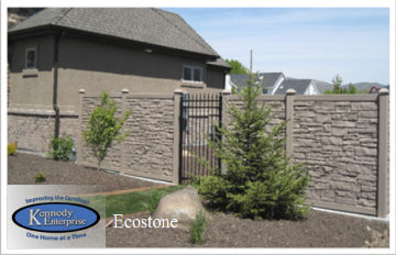 simtek fence has reinvented fence molded fencing resulting in realistic stone appearance and superior performance
